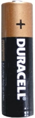 AA Duracell Batteries 4 PACK