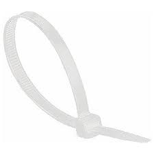 Cable Ties Natural 200 x 7.6mm PACK 100
