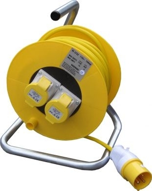 110v Cable Extension Reel 16 Amp 25M Long