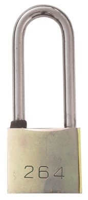 Padlock Long Shackle 38mm with 3 Keys