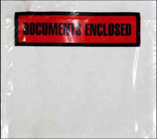 Documents Enclosed Wallets C7 124mm x 110mm BOX OF 1000
