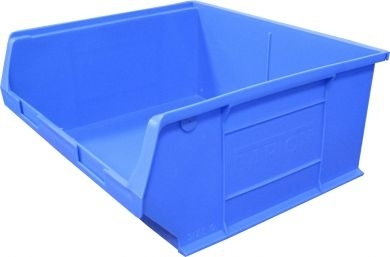 Storage Bin 375mm x 420mm x 641mm Blue PACK OF 5