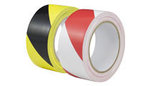 Hazard Warning Tape YELLOW/BLACK Adhesive 50mm x 33Metres 1 ROLL