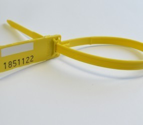 C211 High Strength Sequentially Numbered Security Seals 350mm BOX OF 100